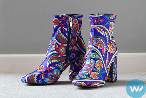 Floral Boots-shoe trends