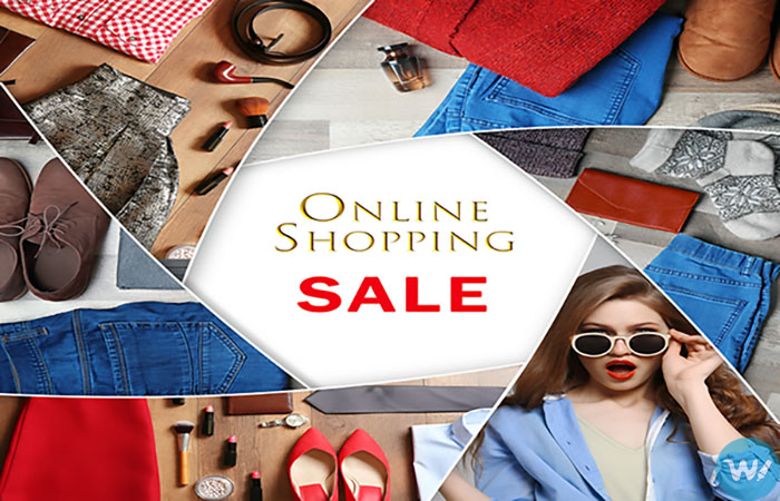 Shopping for clothing online-Buying online