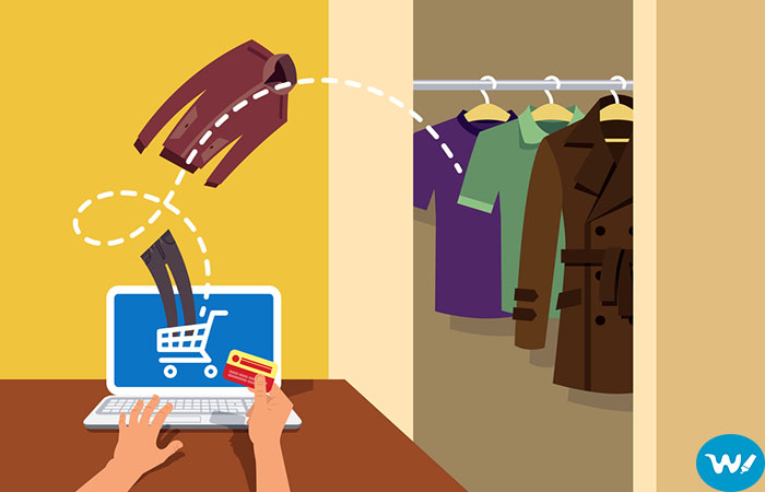 Shopping for clothing online-Buying online clothes