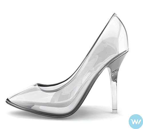 shoes for girls Crystal clear silver shoes-shoe trends