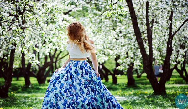 Long Floral Gown- Floral Dress