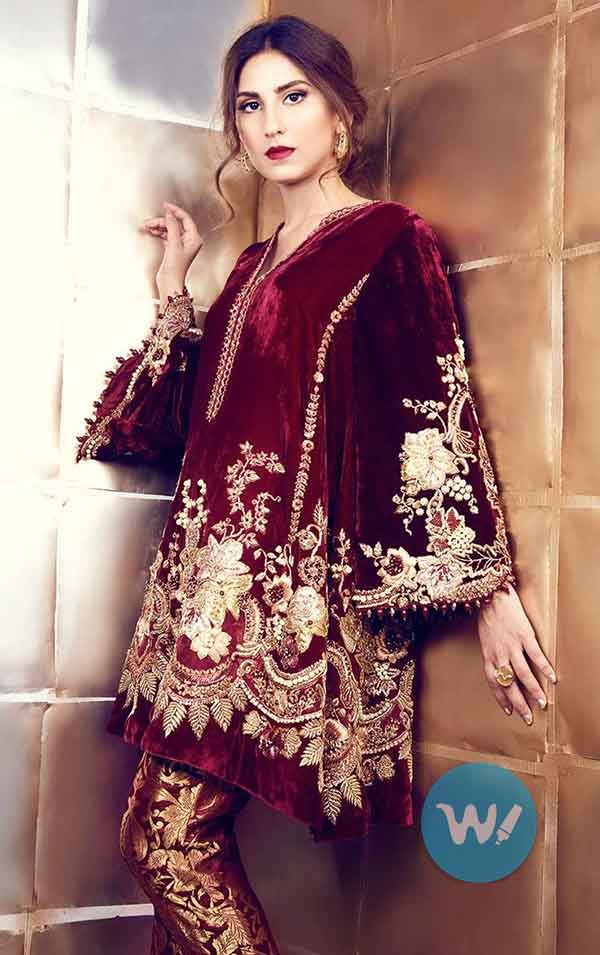 fully embroidered velvet shirts-fashion trends
