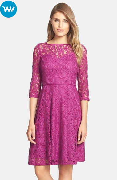 Pink-Floral-Dresses-for-wedding