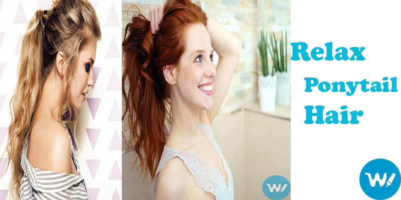 Relax Ponytail HairStyle